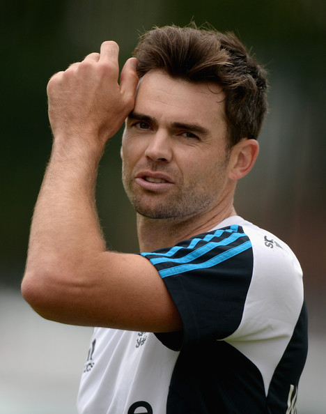 England recorder breaker & legendary bowler James Anderson